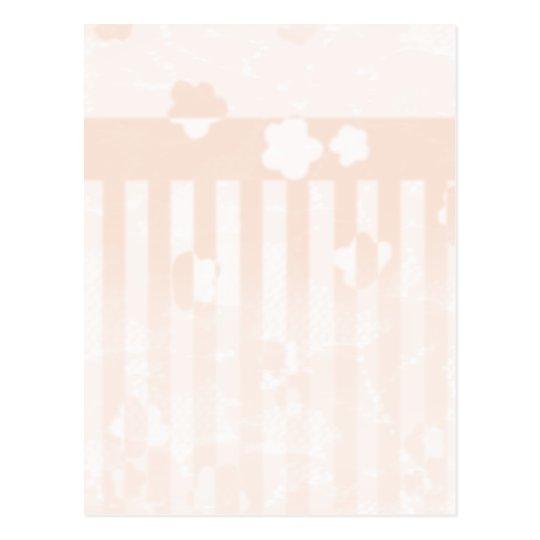 Sakura Stripes Postcard