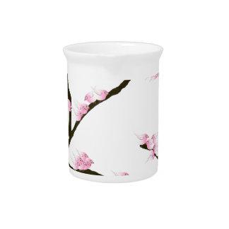 sakura tree and birds tony fernandes pitchers