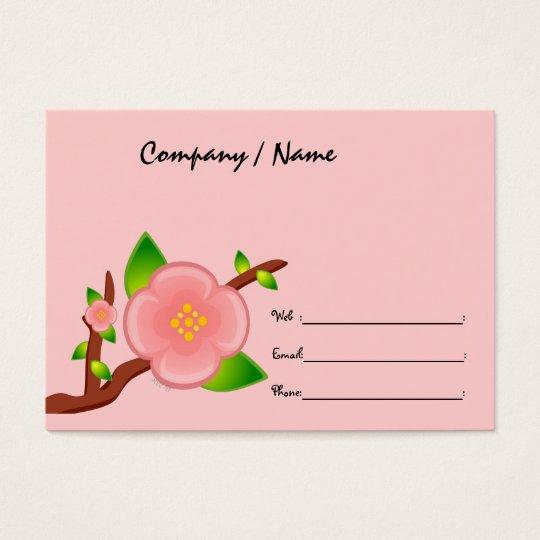 Sakura Tree Profile Card
