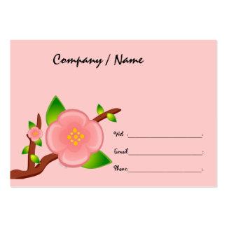 Sakura Tree Profile Card Business Card Template