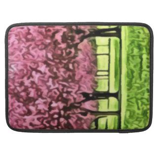 Sakura Trees MacBook Pro Sleeves