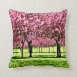 Sakura Trees Pillows