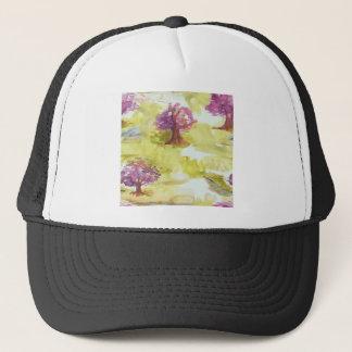 sakura trucker hat