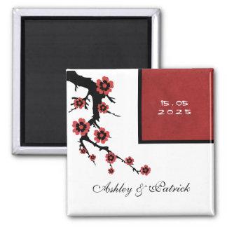 Sakura Wedding Magnet