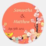 Sakura Wedding Sticker