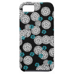 Sakura white black blue iPhone case skin iPhone 5 Covers