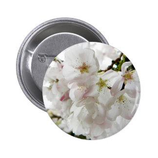 Sakura White Button