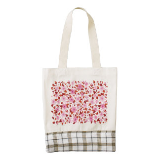 Sakura Zazzle HEART Tote Bag