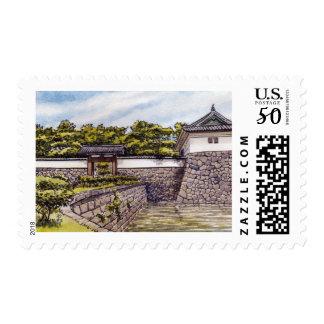 Sakuradamon at the Imperial Palace, Tokyo Postage