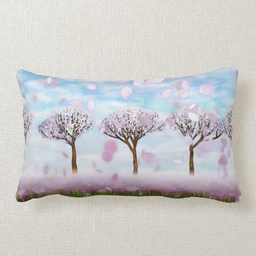 """Sakurama - cerezos - Lumbar 13"""" de la almohada de"""