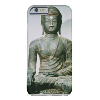 Sakyamuni asentado Buda de Ch'ungung-ni (hierro) Funda De iPhone 6 Barely There