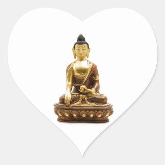 Sakyamuni Buddha Heart Sticker