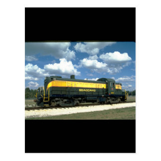 SAL Alco RS-3 #1633, early 1950's_Trains Postcard