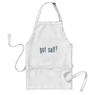 sal conseguida delantal