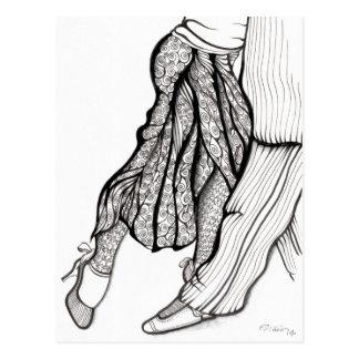 Sal de Azucar Pimienta y - tango de ArTgentina Tarjeta Postal