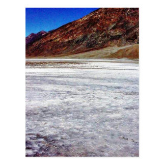 Sal de Death Valley Tarjetas Postales