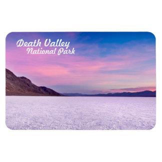 Sal del parque nacional de Death Valley plana Iman Flexible