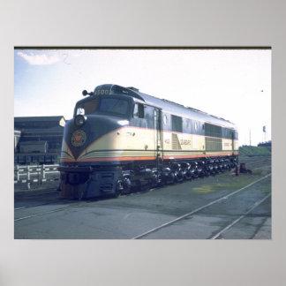 "SAL RR Baldwin ""Centipede"" #4500_Trains Poster"
