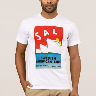 SAL ~ Swedish American Line T-Shirt