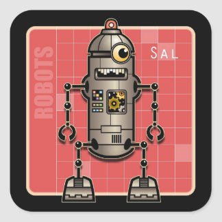 Sal the Robot Sticker