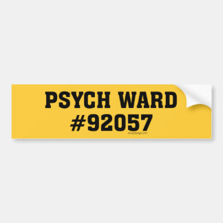 Sala #92057 de Psych Pegatina Para Auto