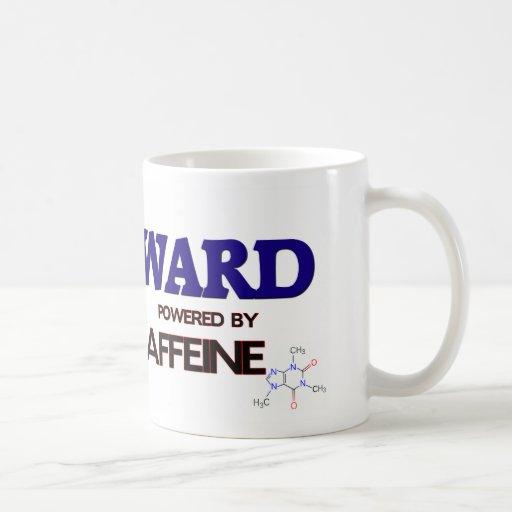 Sala accionada por el cafeína taza básica blanca