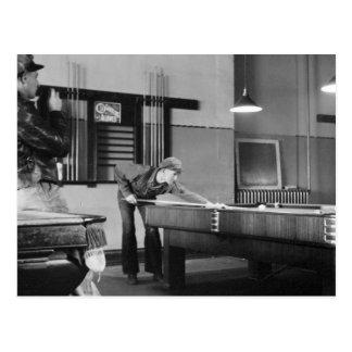 Sala de billar de Iowa, los años 40 Tarjeta Postal