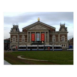 Sala de conciertos, Amsterdam Postales