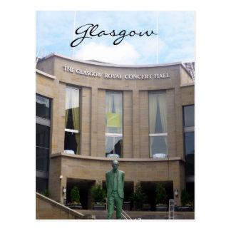 sala de conciertos real de Glasgow Postal