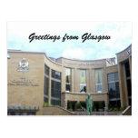 sala de conciertos real Glasgow Tarjetas Postales