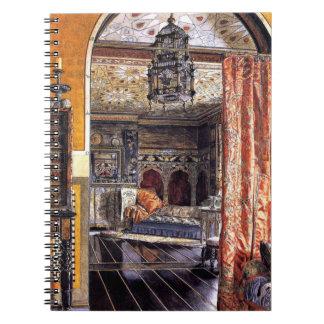 Sala de estar 1895 spiral notebook