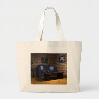 Sala de estar bolsa de mano