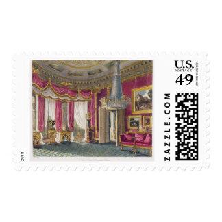 Sala de estar color de rosa del satén (segunda franqueo
