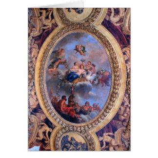 Sala de estar de Venus - Versalles Tarjeta De Felicitación