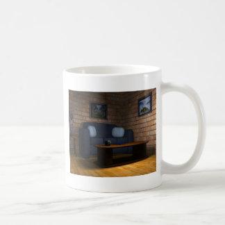 Sala de estar tazas de café