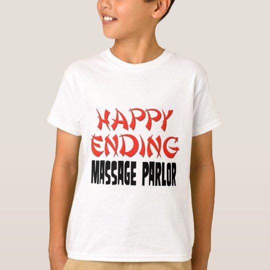Sala de masaje feliz de la conclusión playera