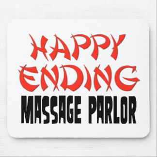 Sala de masaje feliz de la conclusión mouse pads