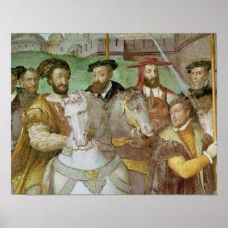 Sala dei Fasti Farnese Poster