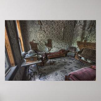 Sala del hotel del pueblo fantasma del granate - M Posters