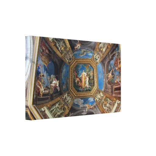 Sala delle Muse Vatican Museum Stretched Canvas Print
