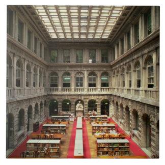 Sala di Lettura, built in 1537-88 (photo) Ceramic Tile