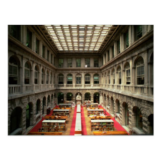 Sala di Lettura, built in 1537-88 (photo) Postcard