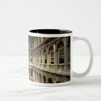 Sala di Lettura, built in 1537-88 (photo) Two-Tone Coffee Mug