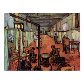 Sala en el hospital en Arles de Vincent van Gogh Postales