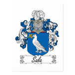 Sala Family Crest Post Cards