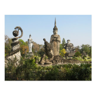 Sala Keo Kou, Nong Khai, Tailandia Tarjetas Postales