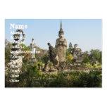 Sala Keo Kou, Nong Khai, Thailand Business Card Template