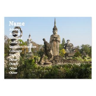 Sala Keo Kou, Nong Khai, Thailand Large Business Card