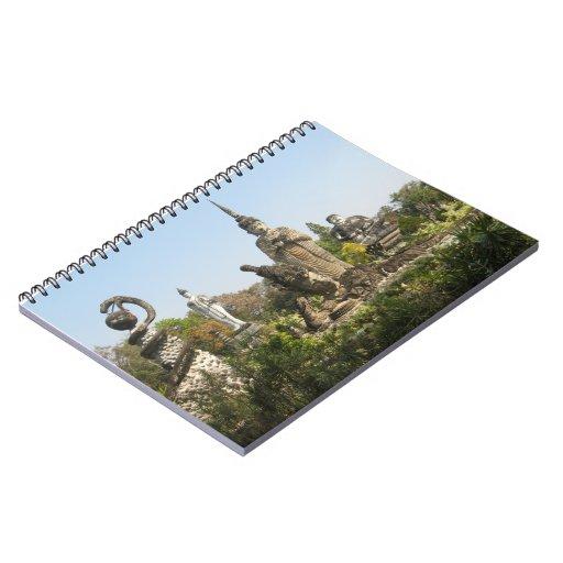 Sala Keo Kou, Nong Khai, Thailand Notebooks