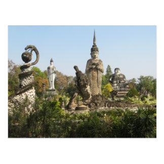 Sala Keo Kou, Nong Khai, Thailand Postcard